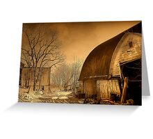 """ Sepia in Color "" Greeting Card"