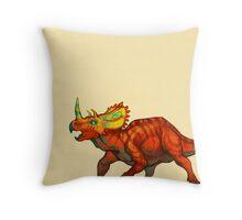 Regaliceratops peterhewsi Throw Pillow