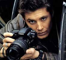 Jensen Ackles Camera by kokomozo