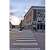 Downtown Montpelier Photographic Print