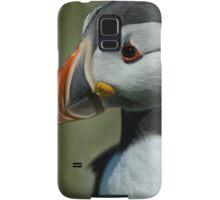 Puffin portrait Samsung Galaxy Case/Skin
