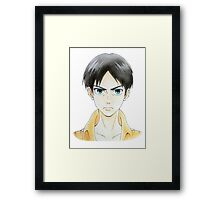 """Shingeki (Attack)"" from Shingeki no kyojin(Attack on Titan) Framed Print"