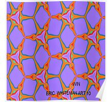 ( WIN )  ERIC  WHITEMAN ART   Poster
