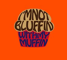Bluffin Muffin Womens Fitted T-Shirt