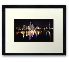 MINUTE OF TIME Framed Print