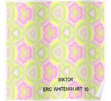 ( WIKTOR  )   ERIC WHITEMAN  ART   Poster