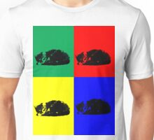Pop Art Tabby Cat Unisex T-Shirt