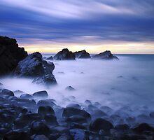 Crescent Head - Blue Symphony by Tatiana R