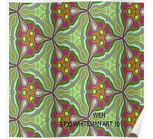 ( WEN )  ERIC WHITEMAN  ART  Poster