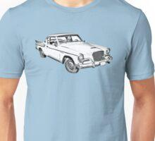 1961 Studebaker Hawk Coupe Illustration Unisex T-Shirt