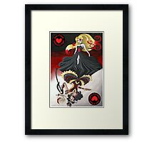 The Queen of Hearts Collaboration Framed Print