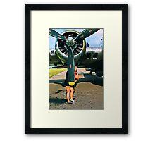 Blonde Bombshell 2 Framed Print