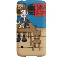 Vampires at the UnDead Cafe Samsung Galaxy Case/Skin
