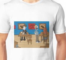 Vampires at the UnDead Cafe Unisex T-Shirt