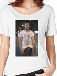 Ryan Gosling Wear Macaulay Culkin Wearing Ryan Gosling Wearing Macaulay Culkin Women's Relaxed Fit T-Shirt