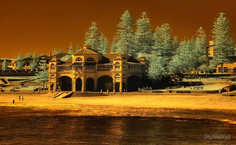 Indiana Tea House #2, Cottesloe Beach, Perth WA by BigAndRed