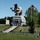 Happy Rock - Gladstone Manitoba Canada by loralea