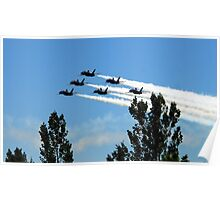 The Blue Angels Poster