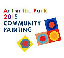Art in the Park Photographic Print