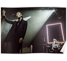 The 1975 - Matty and George Performing  Poster
