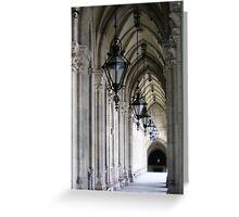 Vienna portico Greeting Card