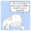 Cuddles by bendrawslife