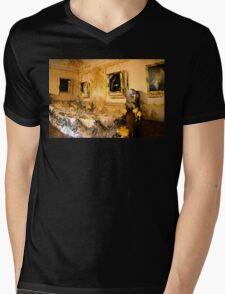 Formal Dining Mens V-Neck T-Shirt