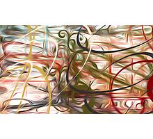 Abstract Colors Oil Painting #53 Photographic Print