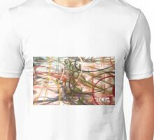 Abstract Colors Oil Painting #53 Unisex T-Shirt