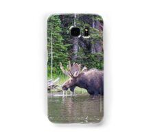 Water Feeding Moose Samsung Galaxy Case/Skin