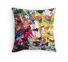 FUN WITH PAPER TOWELS Throw Pillow