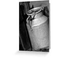 Metal Container France Greeting Card