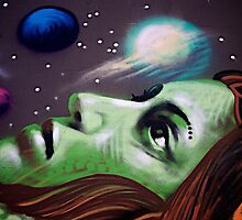 Graffiti Art Series - The Dreamer by EveW