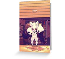 The last day Greeting Card