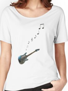 Guitar Notes Women's Relaxed Fit T-Shirt