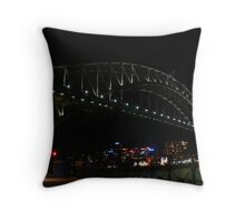 One Saturday in the Quay. Throw Pillow