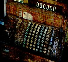 Antique Cash Register by Deb Gibbons
