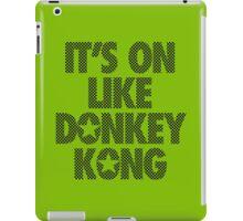 IT'S ON LIKE DONKEY KONG - Checkered iPad Case/Skin