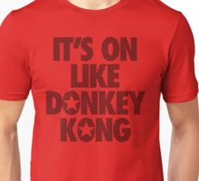IT'S ON LIKE DONKEY KONG - Checkered Unisex T-Shirt