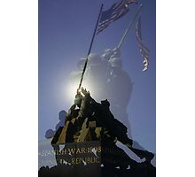 Iwo Jima Memorial - Arlington Virginia Photographic Print