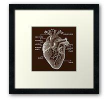 Nomad Heart Framed Print