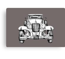 1929 Cord 6-29 Cabriolet Antique Car Illustration Canvas Print