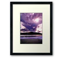 Forces Unknown Framed Print