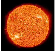 Spiritual Kloth Sun Of The Earth by Kordial Orange Photographic Print