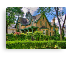 Dream House Canvas Print