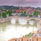 Rome Panorama (best viewed larger) by Stephen Knowles