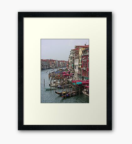 The Colours of Venice Framed Print