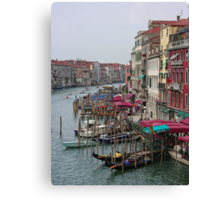 The Colours of Venice Canvas Print