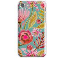 Daisies on Aqua iPhone Case/Skin