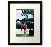 Blonde Bombshell 3 Framed Print